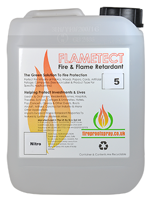 Flametect Nitro for Synthetic & Natural Textiles 5 Litre